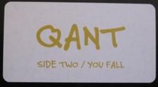 "Qant - Side Two / You Fall - 12"" Vinyl"