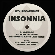 "Insomnia - Nostalgic / Down To Earth - 12"" Vinyl"