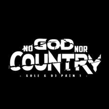 Sole & DJ Pain 1 - No God Nor Country - LP Vinyl