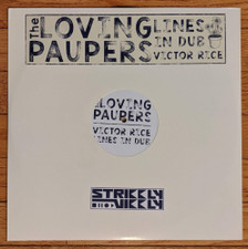 Loving Paupers / Victor Rice - Lines In Dub - LP Vinyl