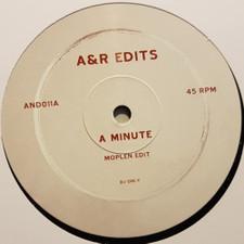 "Moplen - A Minute / Can't Hide - 12"" Vinyl"