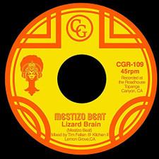 """Mestizo Beat - Lizard Brain / Midnite Nurse - 7"""" Vinyl"""