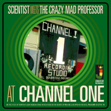 Scientist Meets The Crazy Mad Professor - At Channel One - LP Vinyl