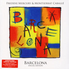 Freddie Mercury & Montserrat Caballe - Barcelona - LP Vinyl