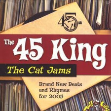"The 45 King - Cat Jams - 12"" Vinyl"