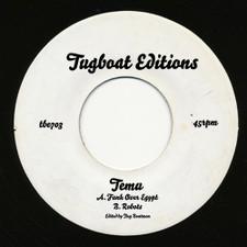 "Temu - Funk Over Egypt / Robots - 7"" Vinyl"