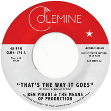 "Ben Pirani - That's The Way It Goes - 7"" Vinyl"