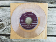 "Kelly Finnigan - Since I Don't Have You Anymore - 7"" Clear Vinyl"