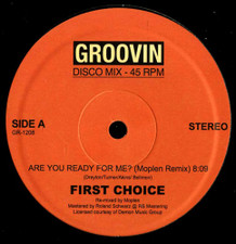 """First Choice - Are You Ready For Me? (Moplen Remix) - 12"""" Vinyl"""
