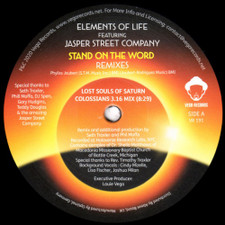 "Elements Of Life - Stand On The Word (Remixes) - 12"" Vinyl"