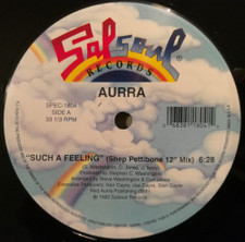 "Aurra - Such A Feeling - 12"" Vinyl"
