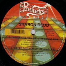"Sharon Redd - Never Give You Up - 12"" Vinyl"