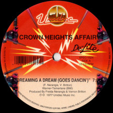 """Crown Heights Affair - Dreaming A Dream (Goes Dancin') - 12"""" Vinyl"""