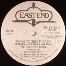 "The Fatback Band - Going to See My Baby - 12"" Vinyl"