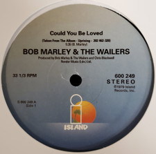"Bob Marley & The Wailers - Could You Be Loved / Jammin' / I Shot The Sheriff - 12"" Vinyl"