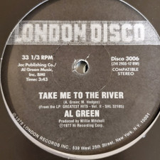"Al Green - Love & Happiness / Take Me To The River - 12"" Vinyl"