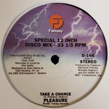 "Pleasure - Take A Chance / Glide - 12"" Vinyl"