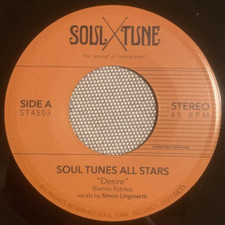 "Soul Tune Allstars - Desire / Messin Around - 7"" Vinyl"