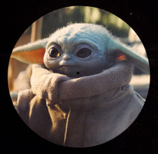 Baby Yoda - The Mandalorian - Single Slipmat