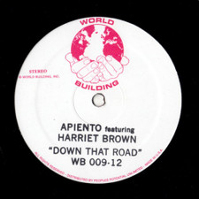 "Apiento - Down That Road - 12"" Vinyl"