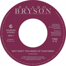 "Peabo Bryson - Why Don't You Make Up Your Mind - 7"" Vinyl"