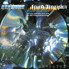BBC Radiophonic Workshop - Fourth Dimension - LP Colored Vinyl