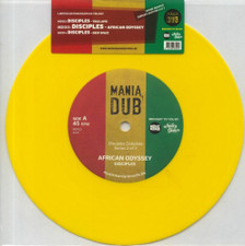 """The Disciples - African Odyssey - 7"""" Colored Vinyl"""