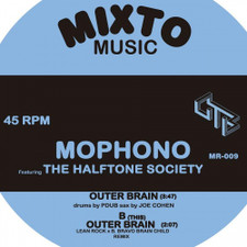 "Mophono / Halftone Society - Outer Brain - 7"" Vinyl"