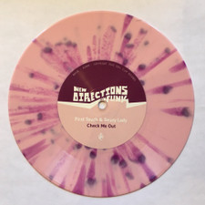 "First Touch & Saucy Lady - Check Me Out - 7"" Colored Vinyl"