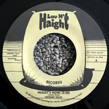 "Howard Wales - Huxley's Howl / My Blues - 7"" Vinyl"