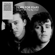 Tears For Fears - Songs From The Big Chair - LP Picture Disc Vinyl