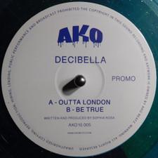 """Decibella - Outta London / Be True - 10"""" Colored Vinyl"""