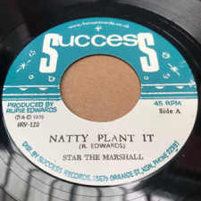 "Star The Marshall - Natty Plant It - 7"" Vinyl"