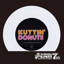 "Dr. Suzuki - Kuttin' Donuts (White) - Single 7"" Slipmat"