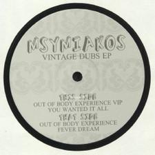 """Msymiakos - Vintage Dubs Ep - 12"""" Vinyl"""