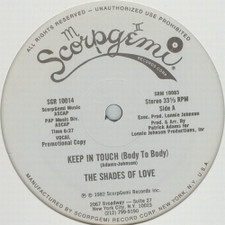"The Shades Of Love - Keep In Touch (Body To Body) - 12"" Vinyl"