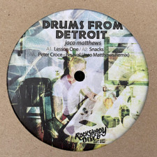 "Jaco Matthews / Peter Croce - Drums From Detroit - 12"" Vinyl"