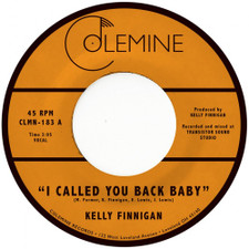 "Kelly Finnigan - I Called You Back Baby - 7"" Vinyl"