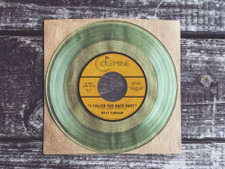 """Kelly Finnigan - I Called You Back Baby - 7"""" Clear Vinyl"""