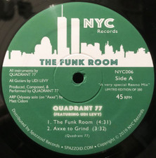 "Quadrant 77 - The Funk Room - 12"" Vinyl"