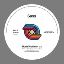 """Sass - Much Too Much - 12"""" Vinyl"""