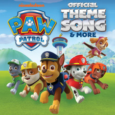 "PAW Patrol - Official Theme Song & More - 7"" Colored Vinyl"