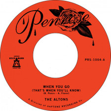 """The Altons - When You Go (That's When You'll Know) - 7"""" Vinyl"""