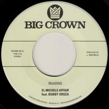 "El Michels Affair & Bobby Oroza - Reasons / Hipps - 7"" Vinyl"