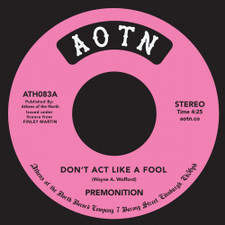 "Premonition - Don't Act Like A Fool / In Love - 7"" Vinyl"