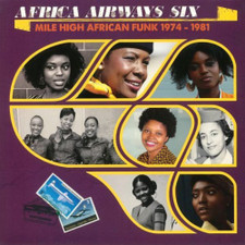 Various Artists - Africa Airways Six (Mile High African Funk 1974-1981) - LP Vinyl