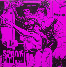 "Misfits - Spook City U.S.A. - 7"" Vinyl"