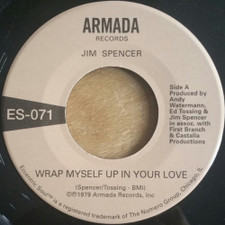 "Jim Spencer / Angie Jaree - Wrap Myself In Your Love - 7"" Vinyl"