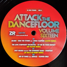 "Various Artists - Attack The Dancefloor Vol. 16 - 12"" Vinyl"