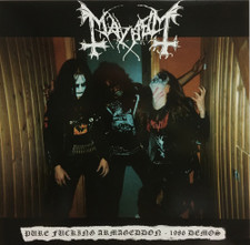 Mayhem - Pure Fucking Armageddon - 1986 Demos - LP Vinyl